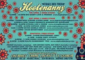 Spring Hootenanny Handbill front-01