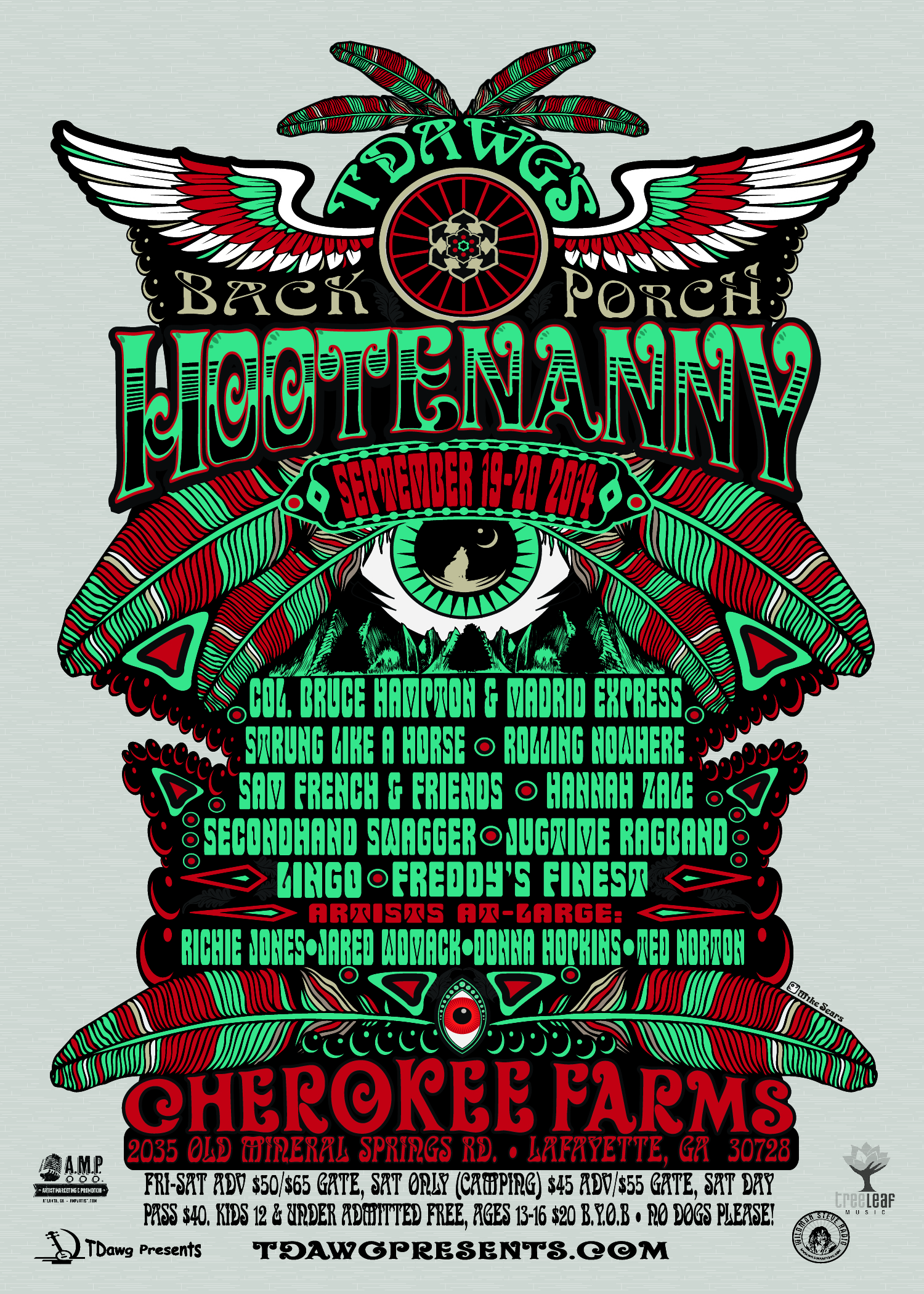 Hootenanny Fall 2014  Handbill back-01